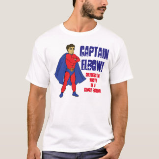 Captain Elbow Massage Therapy Hero T-Shirt