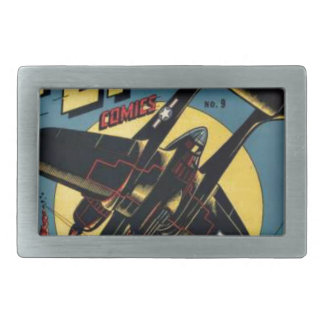 Captain Flight Vintage Golden Age Comic Book Belt Buckles
