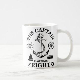 Captain Funny Coffee Mug