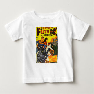 Captain Fure and the Space Dogs Baby T-Shirt