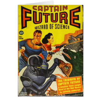 Captain Fure and the Space Dogs Card