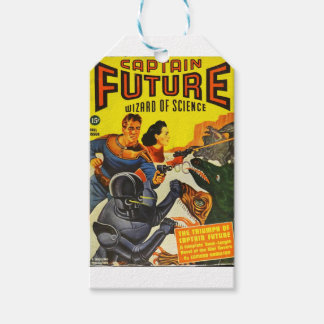 Captain Fure and the Space Dogs Gift Tags
