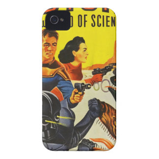 Captain Fure and the Space Dogs iPhone 4 Case-Mate Case