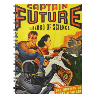 Captain Fure and the Space Dogs Notebooks