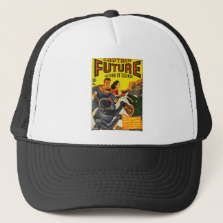 Captain Fure and the Space Dogs Trucker Hat