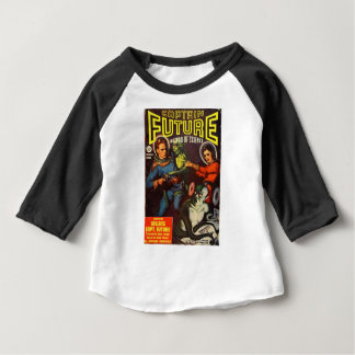 Captain Future and Solar Doom. Baby T-Shirt