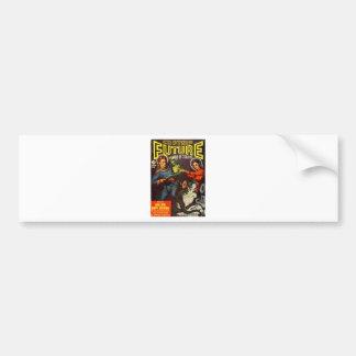Captain Future and Solar Doom. Bumper Sticker