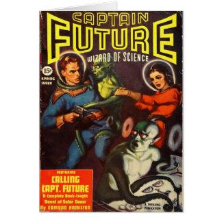 Captain Future and Solar Doom. Card