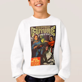 Captain Future and Solar Doom. Sweatshirt