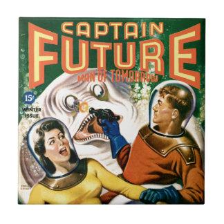 Captain Future and the Magic Moon Ceramic Tile