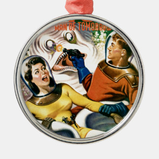 Captain Future and the Magic Moon Metal Ornament
