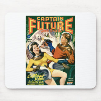 Captain Future and the Magic Moon Mouse Pad
