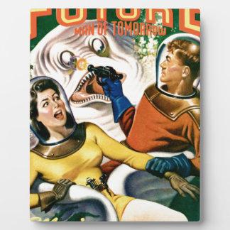 Captain Future and the Magic Moon Plaque