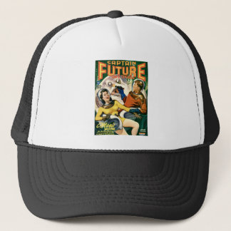 Captain Future and the Magic Moon Trucker Hat