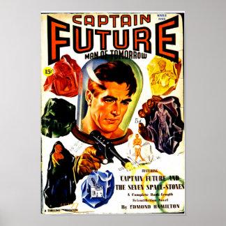 Captain Future and the Seven Spacestones Poster