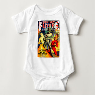Captain Future and the Space Emperor Baby Bodysuit