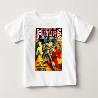 Captain Future and the Space Emperor Baby T-Shirt