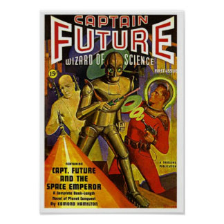 Captain Future and the Space Emperor Poster