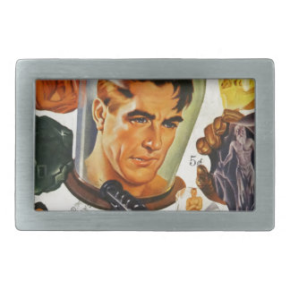 Captain Future and the Space Stones Belt Buckles