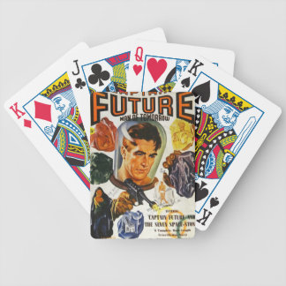 Captain Future and the Space Stones Bicycle Playing Cards