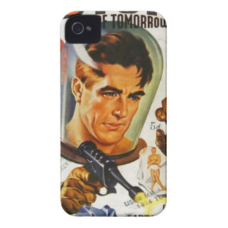 Captain Future and the Space Stones iPhone 4 Cover