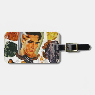 Captain Future and the Space Stones Luggage Tag