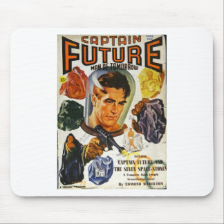 Captain Future and the Space Stones Mouse Pad