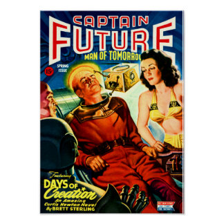 Captain Future --- Days of Creation Poster