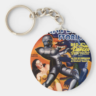 Captain Future Key Ring