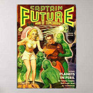 Captain Future -- Planets in Peril Poster