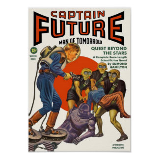 Captain Future -- Quest beyond the Stars Poster