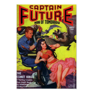 Captain Future -- the Comet King Poster