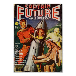 Captain Future -- the  Lost World of Time Poster