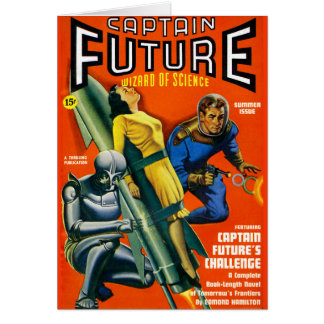 Captain Future's Challenge! Card