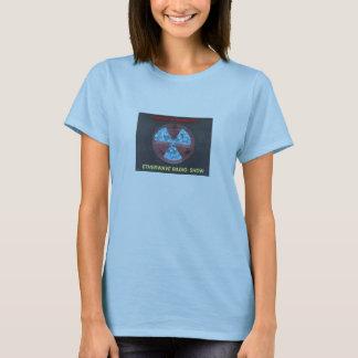 Captain Greybeard Warning Pizza Logo Baby Doll T-Shirt