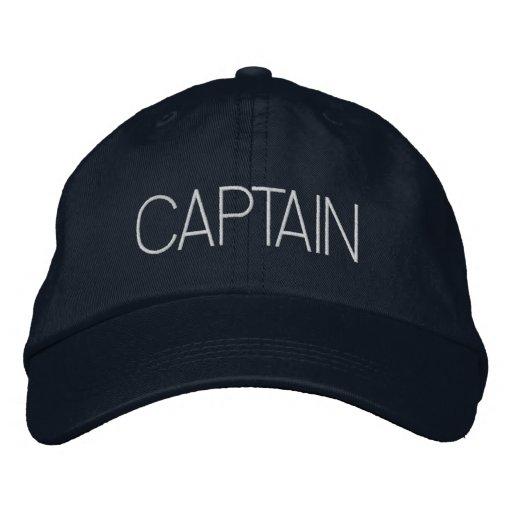 Captain Hat - boat captain, yacht gift, new boater Baseball Cap
