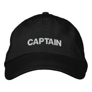 CAPTAIN HAT EMBROIDERED BASEBALL CAP