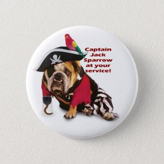 Captain Jack! 6 Cm Round Badge
