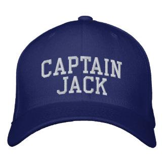 Captain Jack Embroidered Baseball Caps