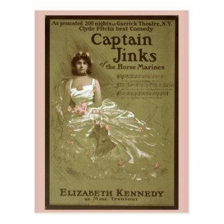 """Captain Jinks of the Horse Marines"" Vintage Postcard"