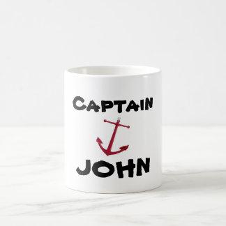 Captain, JOHN Coffee Mug