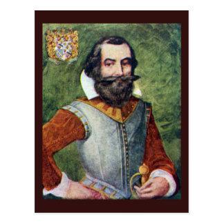 Captain John Smith Jamestown Colony Postcard