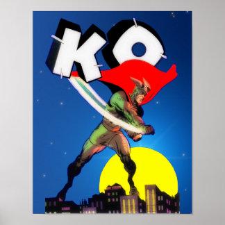 Captain K.O. Poster