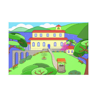 Captain Kayak's House Canvas Print
