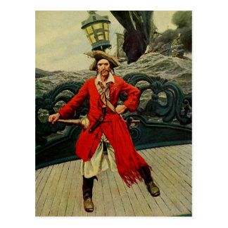Captain Keitt Postcard