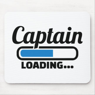 Captain loading mouse pad