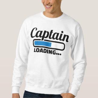Captain loading sweatshirt