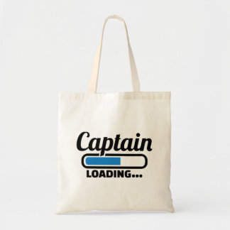 Captain loading tote bag