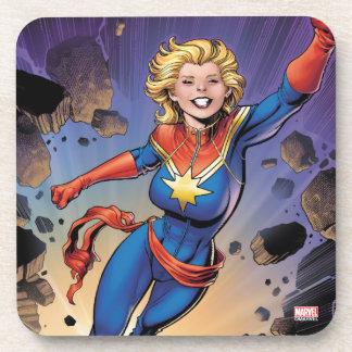 Captain Marvel Breaking Through Wall Coaster