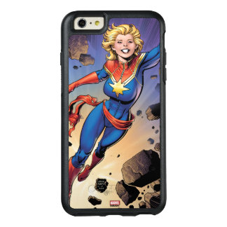 Captain Marvel Breaking Through Wall OtterBox iPhone 6/6s Plus Case